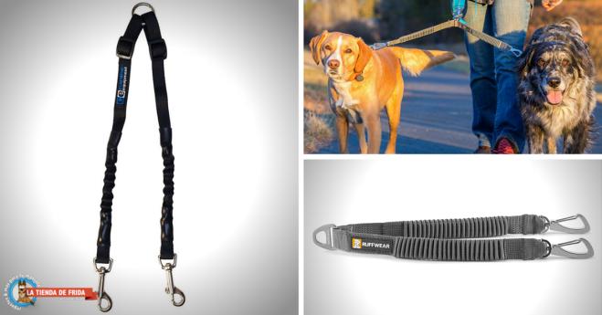 Acopladores Elásticos para Pasear a 2 Perros al Mismo Tiempo