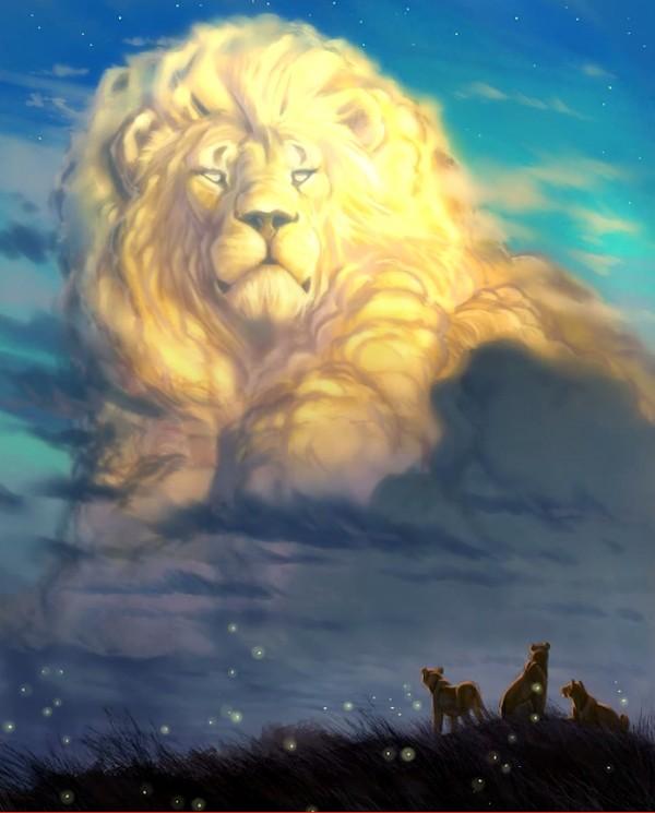 Homenaje a Cecile el León de Aaron Blaise