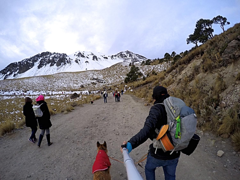 Camino al Volcan Nevado de Toluca